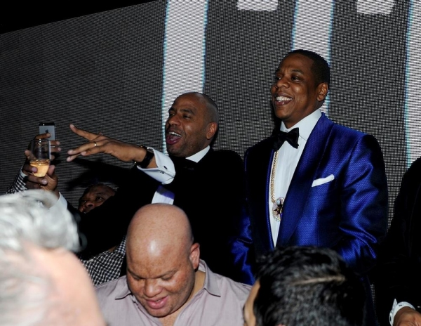 Photo Flash: Jay Z Parties at Hakkasan Las Vegas - Friday, December 13