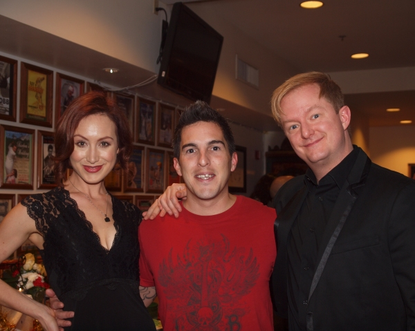 Monica Schneider, Andy Lopez, and Kyle Nudo
