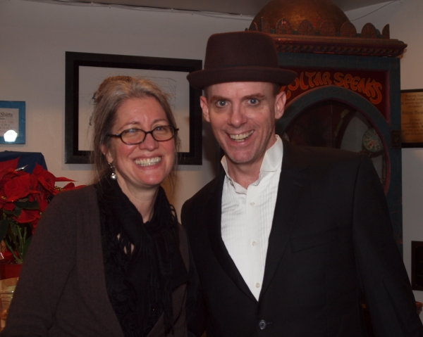 Costume Designer Sharon McGunigle and Matt Walker Photo