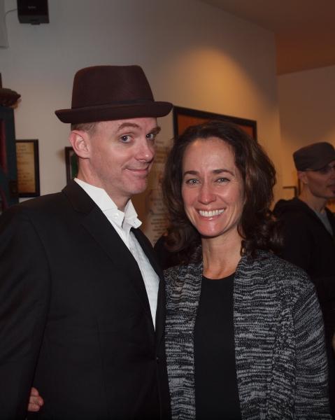 Artistic Director Matt Walker and Producing Director Beth Kennedy