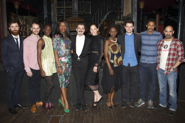 Christian Edwards, Adam Sopp, Ony Uhiara, Nicola Hughes, Richard Kent, Ruth Wilson, Sharon Duncan-Brewster, Simon Coombs and Zubin Vara