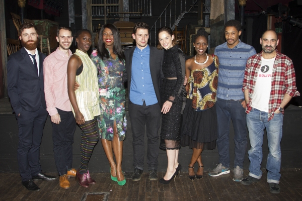Photo Flash: Inside Opening Night of EL. TRAIN at Hoxton Hall