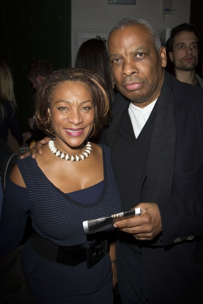 Dona Croll and Don Warrington