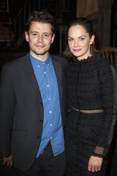 Sam Yates and Ruth Wilson