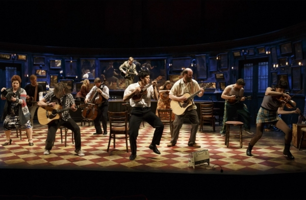 Photo Flash: First Look - Paul Alexander Nolan Joins Cast of Broadway's ONCE as 'Guy'