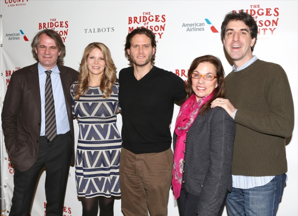 Photo Coverage: Meet the Company of THE BRIDGES OF MADISON COUNTY on Broadway!
