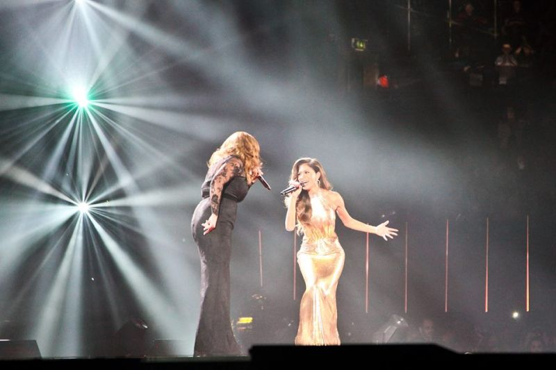 X FACTOR Winner Sam Bailey & Nicole Scherzinger Duet On DREAMGIRLS Showstopper