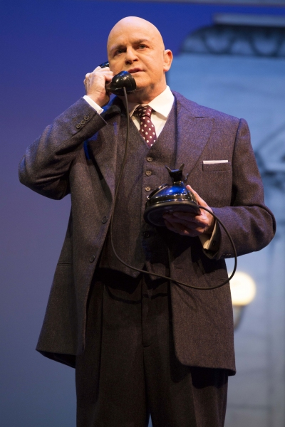 Ron Raines as Daddy Warbucks
