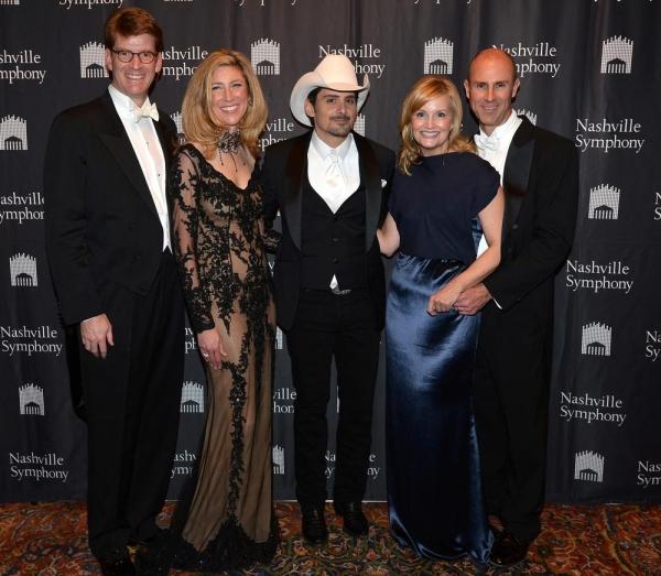 Gus & Jennifer Puryear, Brad Paisley, Jane Anne & Dale Pilkinton Photo