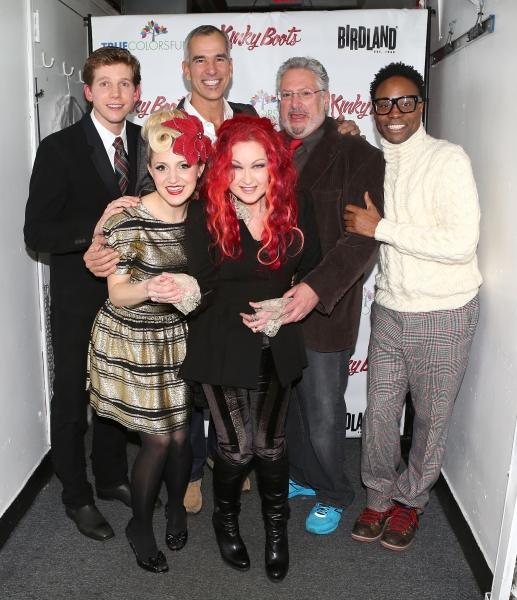 Photo Coverage: Backstage at Cyndi Lauper's KINKY KABARET for True Colors