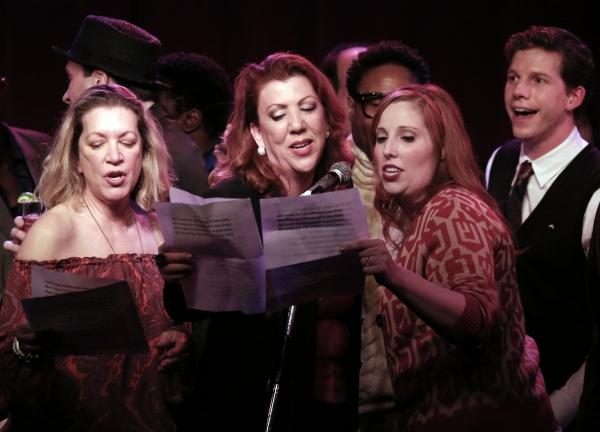 ''Kinky Boots'' cast members featuring Adinah Alexander, Jennifer Perry, Billy Porter Photo