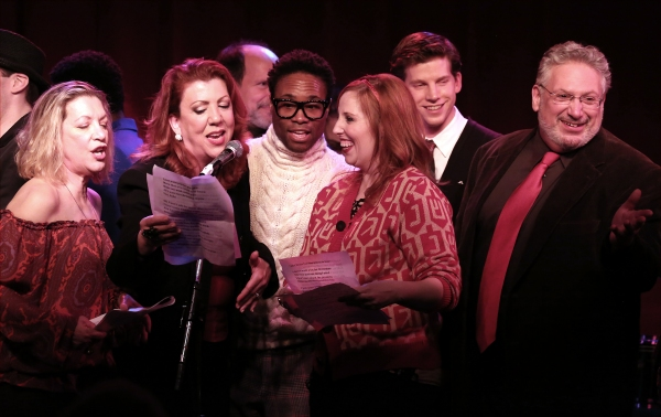 Adinah Alexander, Jennifer Perry, Billy Porter, Tory Ross, Stark Sands and Harvey Fierstein
