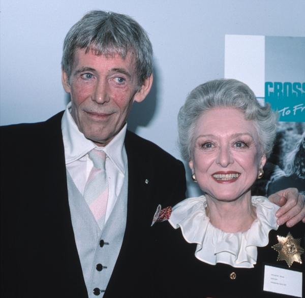 Peter O''Toole and Celeste Holm Photo