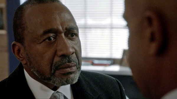 ''Homesick'' -- Director Vance (Rocky Carroll, right) struggles with forgiveness as his estranged father-in-law (Ben Vereen, left) makes a surprise visit to his home, on NCIS, Tuesday, Dec. 17 (8:00-9:00 PM, ET/PT) on the CBS Television Network. Frame Gra