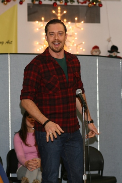 Photo Flash: BIG FISH Cast Bring Holiday Joy at SING FOR YOUR SENIORS Performance