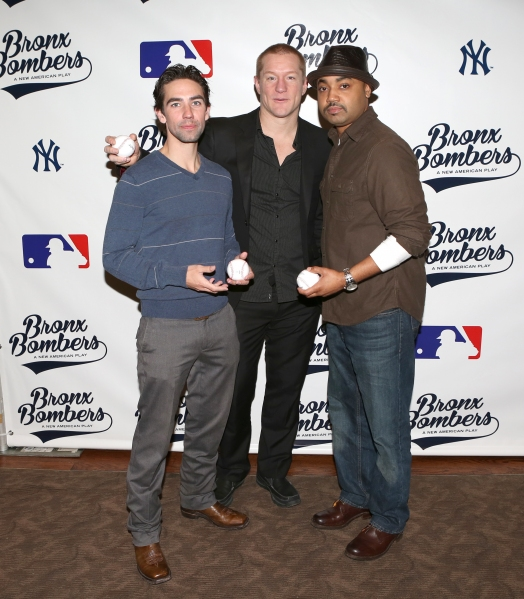 Photo Coverage: Batter Up! Meet the Broadway Cast of BRONX BOMBERS