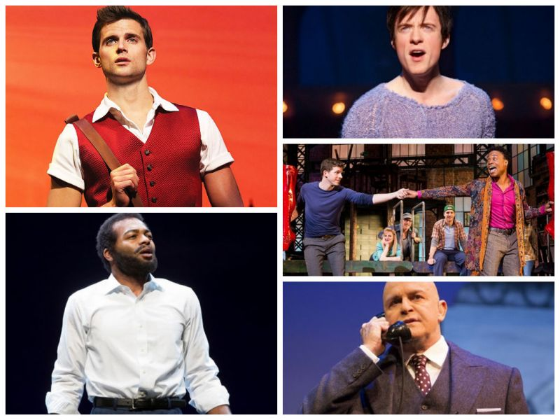 A Stage of Their Own: This Season's Leading Men Light Up Broadway