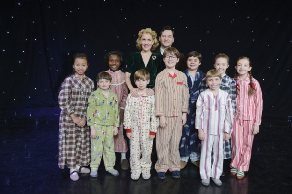 On the set of Good Morning America, cast members fromA CHRISTMAS STORY, THE  Photo