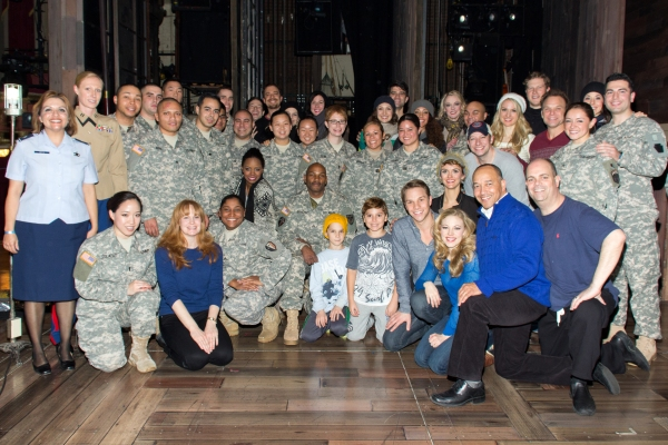 Exclusive Photo Coverage: 50 USO Members Attend BIG FISH!