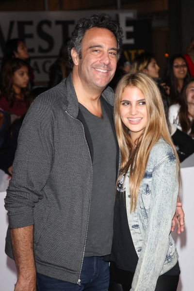 Brad Garrett and Daughter