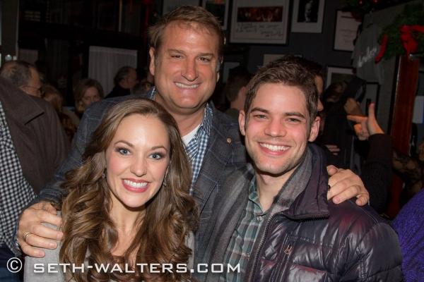 Laura Osnes, Jeff Calhoun, Jeremy Jordan
