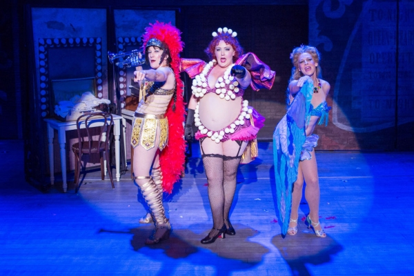 Donna Migliaccio, Tracy Lynn Olivera, and Sandy Bainum