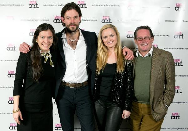 Diane Paulus, Gisli �'–rn Gardarsson, Selma Bj�'¶rnsd�'³ttir, and  Photo