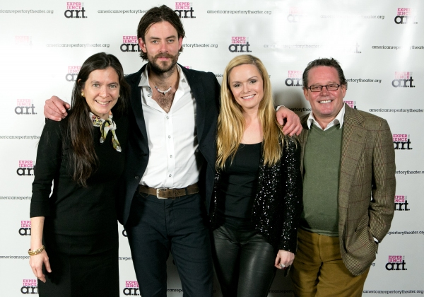 "Diane Paulus, Gisli �""rn Gardarsson, Selma Björnsdóttir, and Billy Russo"