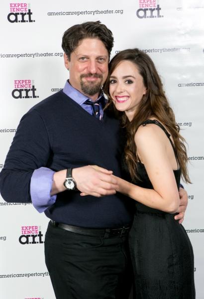 Christopher Sieber and Christina Bennett Lind