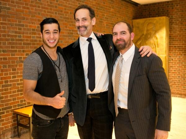 Moe Alafrangy, Damian Young, and David Michael Garry