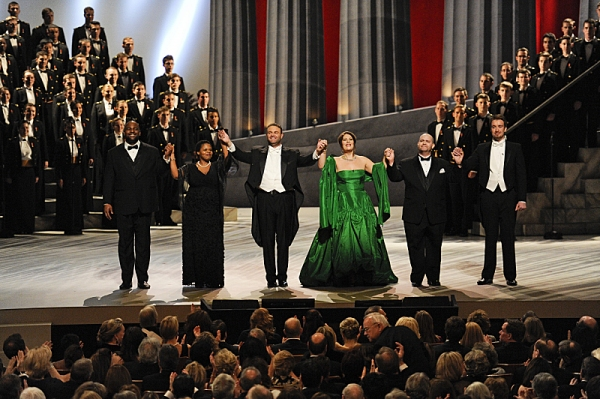 The 36th Annual Kennedy Center Honors --Opera singer Martina Arroyo, pianist, keyboardist, bandleader and composer Herbie Hancock, pianist, singer and songwriter Billy Joel, actress Shirley MacLaine and musician and songwriter Carlos Santana will receive