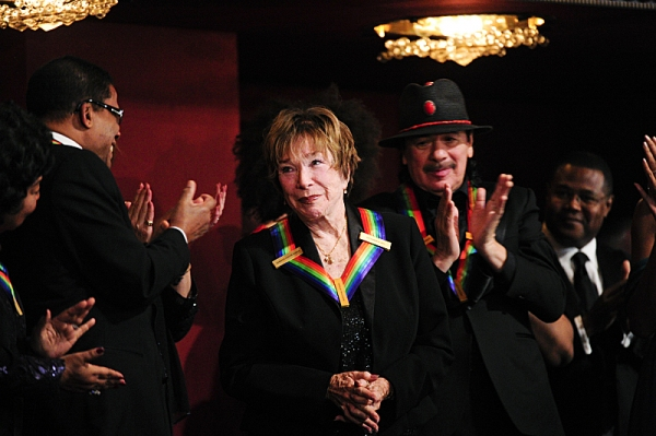 THE 36TH ANNUAL KENNEDY CENTER HONORS--Opera singer Martina Arroyo, pianist, keyboardist, bandleader and composer Herbie Hancock, pianist, singer and songwriter Billy Joel, actress Shirley MacLaine and musician and songwriter Carlos Santana will receive h