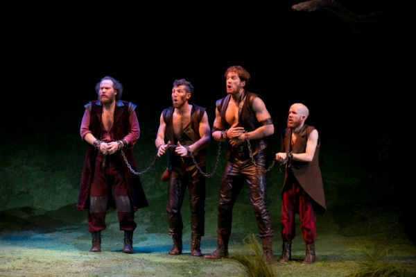 Photo Flash: First Look at Jordan Dean, Christina Bennett Lind, Christopher Sieber and More in A.R.T.'s THE HEART OF ROBIN HOOD