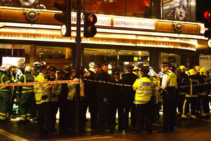 Latest: Seven Seriously Injured After Ceiling Collapse At Apollo Theatre