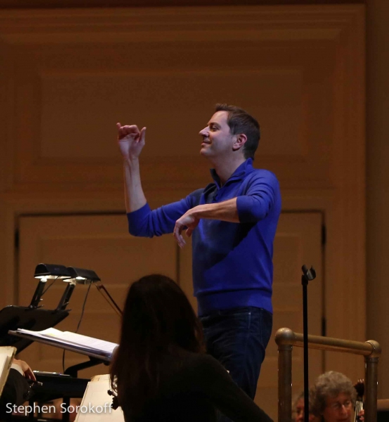 Photo Coverage: In Rehearsal with Ashley Brown & Steven Reineke with New York Pops
