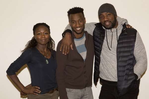 Zainab Jah, Sheldon Best and Malik Yoba Photo