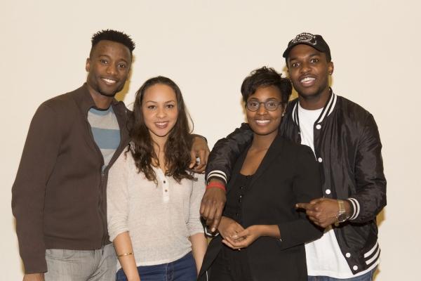 Sheldon Best, Jasmine Cephas Jones, Sydney Sainte and Joshua E. Nelson Photo