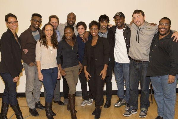Director Leah C. Gardiner, Sheldon Best, Jasmine Cephas Jones, Todd Weeks, Zainab Jah, Malik Yoba, Raviv Ullman, Sydney Sainte, Eshan Bay, Joshua E. Nelson, Patrick Murney and adaptor Roy Williams