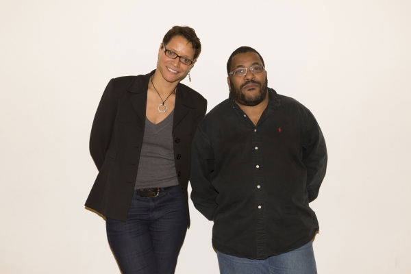 Director Leah C. Gardiner and adaptor Roy Williams
