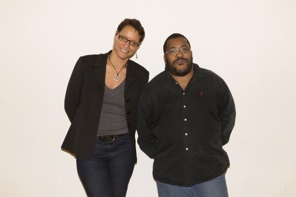 Director Leah C. Gardiner and adaptor Roy Williams