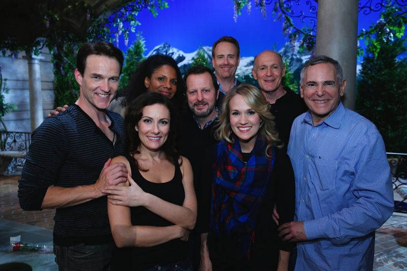 It's A Wrap! Cast & Producers Of THE SOUND OF MUSIC Celebrate On Set