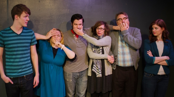 Photo Flash: First Look at Phoenix Theatre's TRIBES, Beginning Tonight