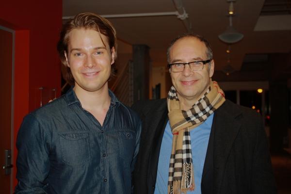 Daniel Mitura and Jean Brassard