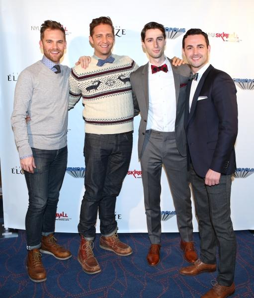 Bryan Kehn, Colin Hanlon, Daniel Rowan and Max Von Essen