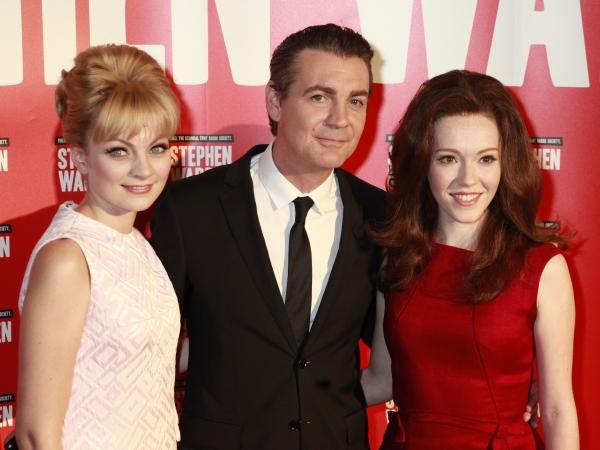 Charlotte Blackledge, Alexander Hanson and Charlotte Spencer Photo