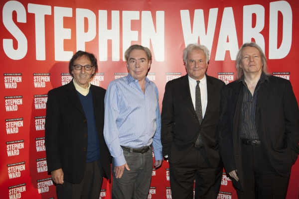 Don Black (Author/Lyrics), Sir Andrew Lloyd Webber (Music), Richard Eyre (Director) and Christopher Hampton (Author/Lyrics)''Stephen Ward'' Musical Photocall,
