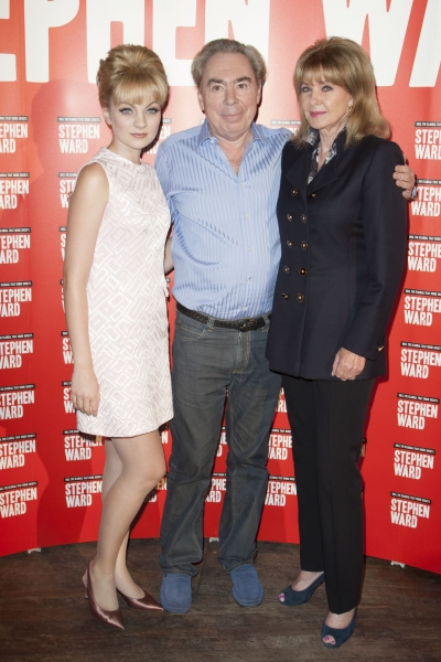 Charlotte Blackledge (Mandy Rice Davies), Sir Andrew Lloyd Webber (Music) and Mandy Rice Davies