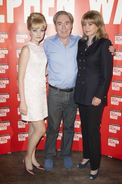 Charlotte Blackledge (Mandy Rice Davies), Sir Andrew Lloyd Webber (Music) and Mandy Rice Davies