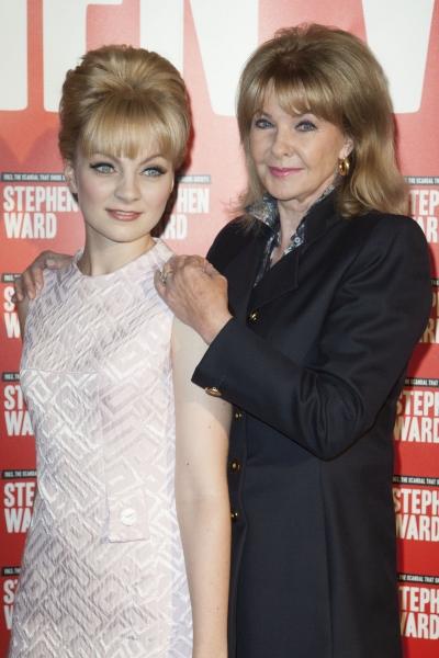 Charlotte Blackledge (Mandy Rice Davies) and Mandy Rice Davies