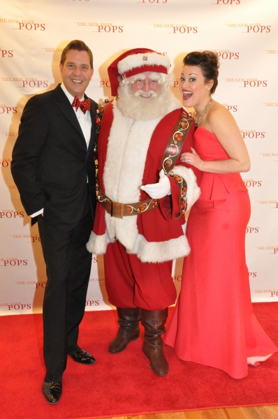 Steven Reineke, Santa Claus and Ashley Brown